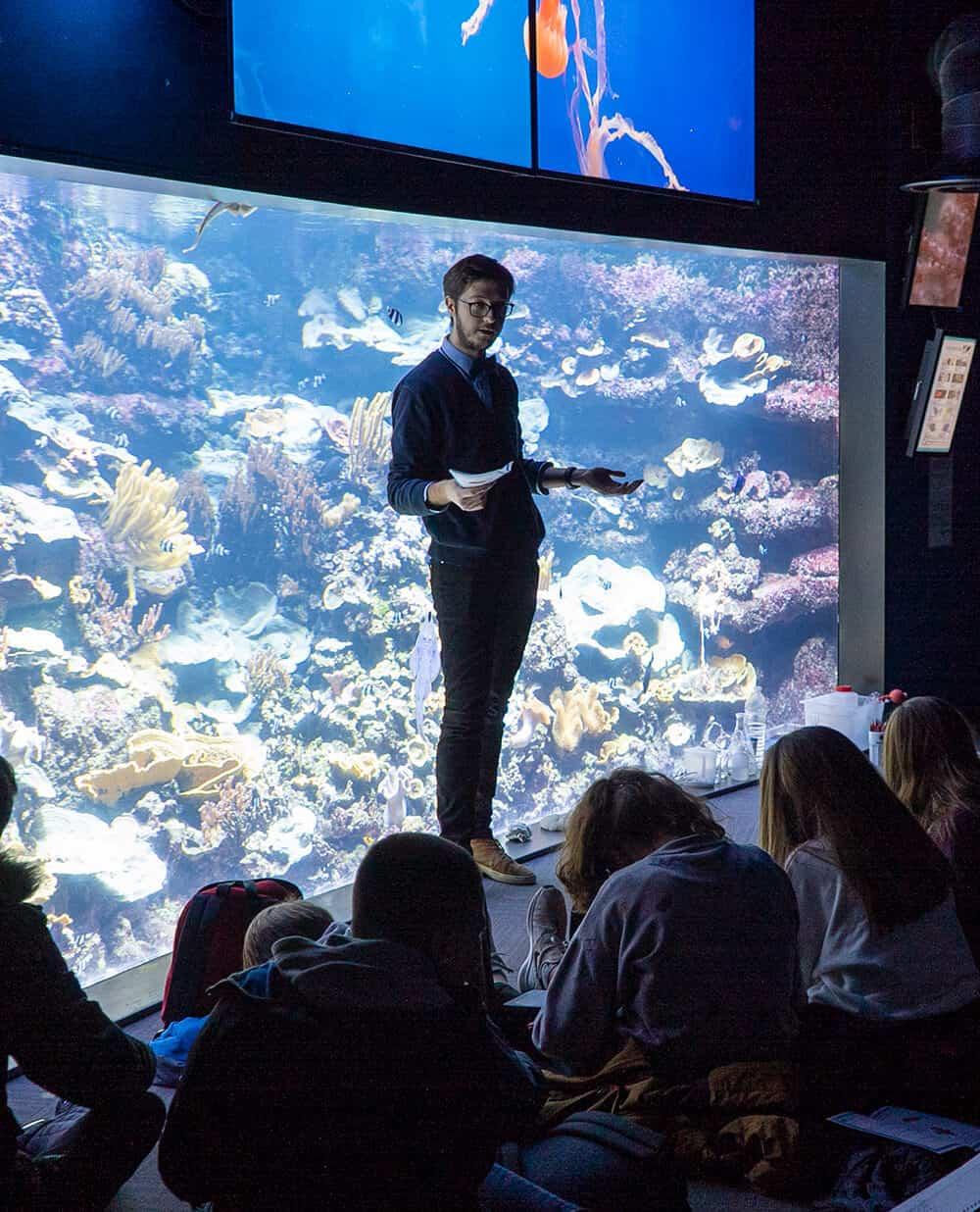 Missions pédagogiques à l'Aquarium de Paris - Sortie insolite en famille