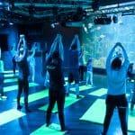 Séance de yoga - Aquarium de Paris