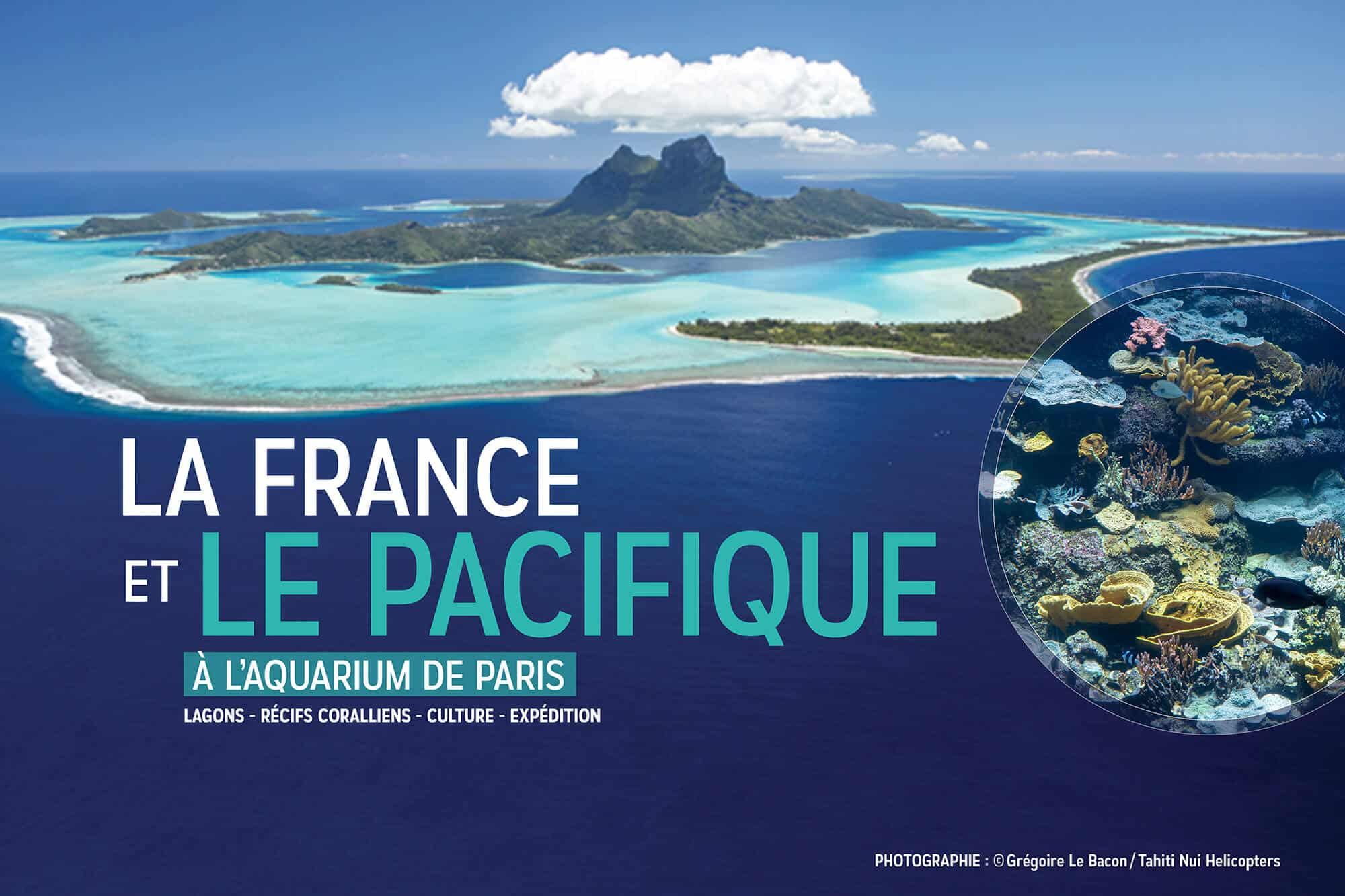 La France et le pacifique - Aquarium de Paris