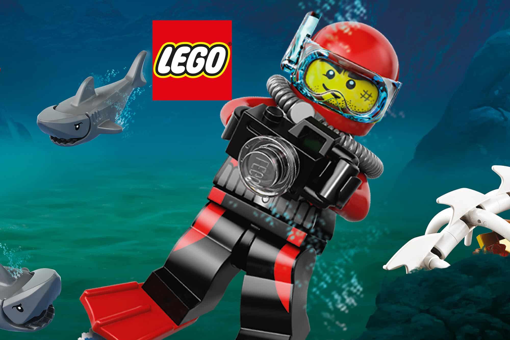 Exposition LEGO - Aquarium de Paris
