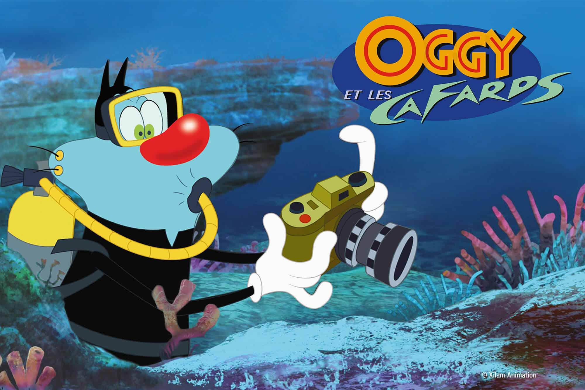 Exposition Oggy et les cafards - Aquarium de Paris