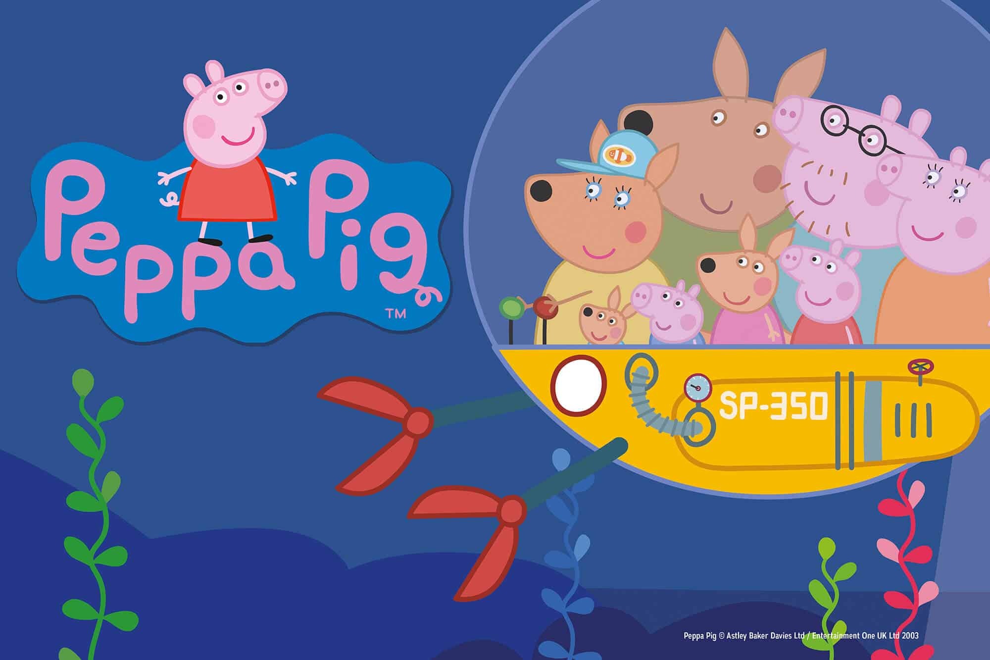 Exposition Peppa Pig - Aquarium de Paris