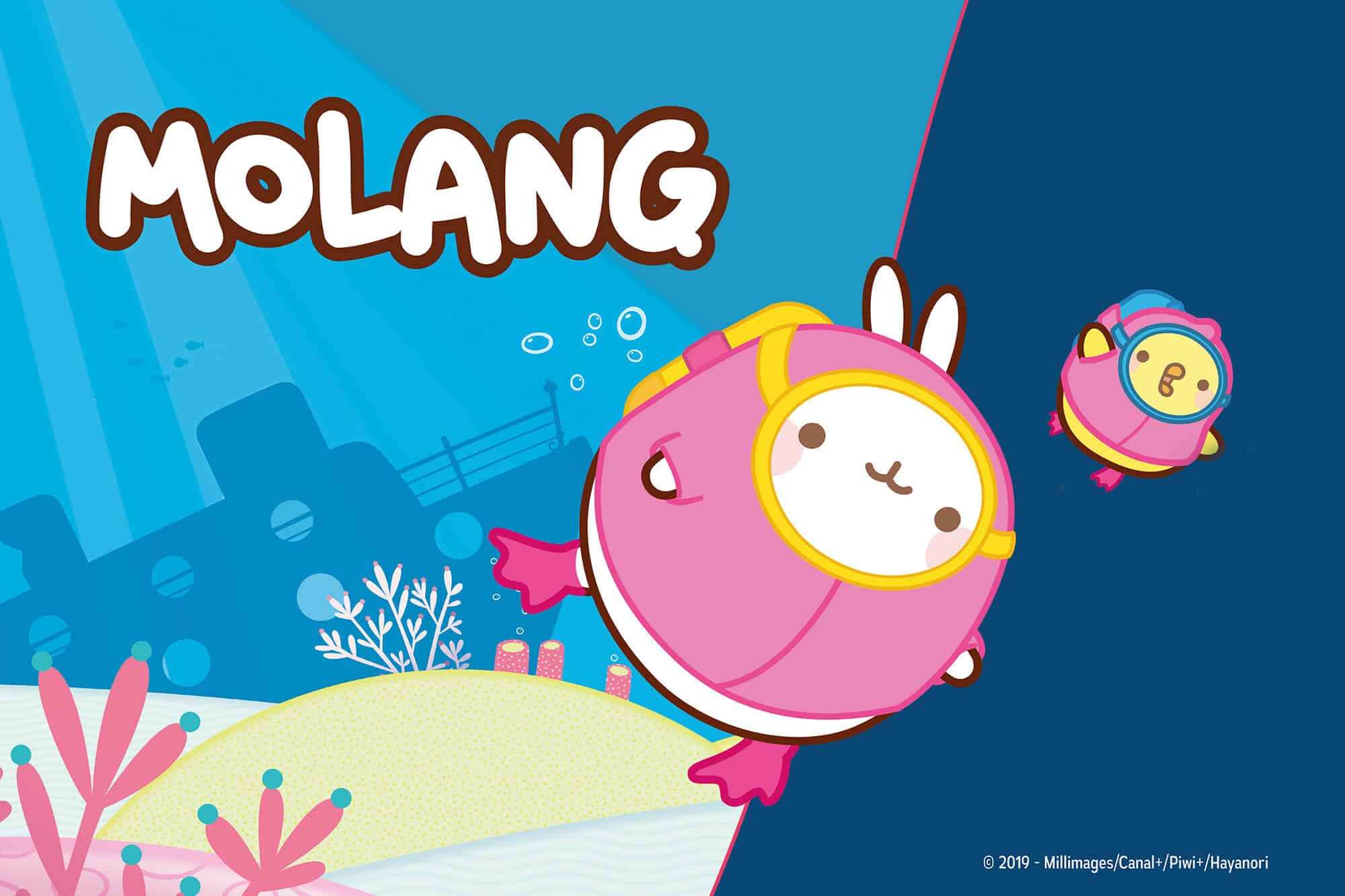 Exposition Molang - Aquarium de Paris