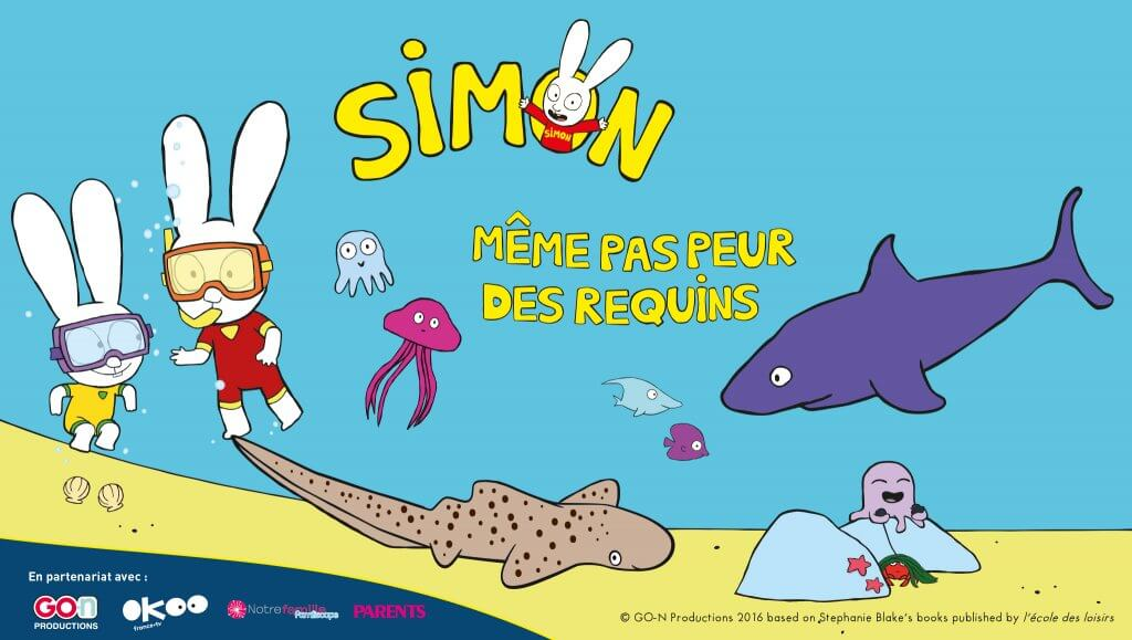 Exposition simon même pas peur - Aquarium de Paris