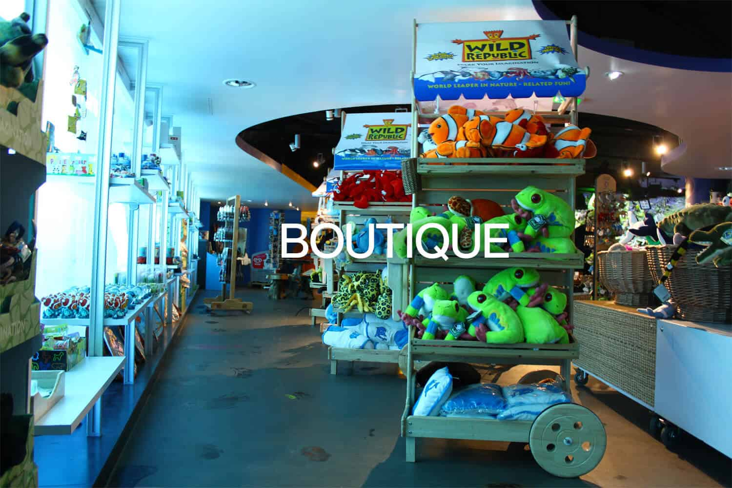 Boutique - Aquarium de Paris
