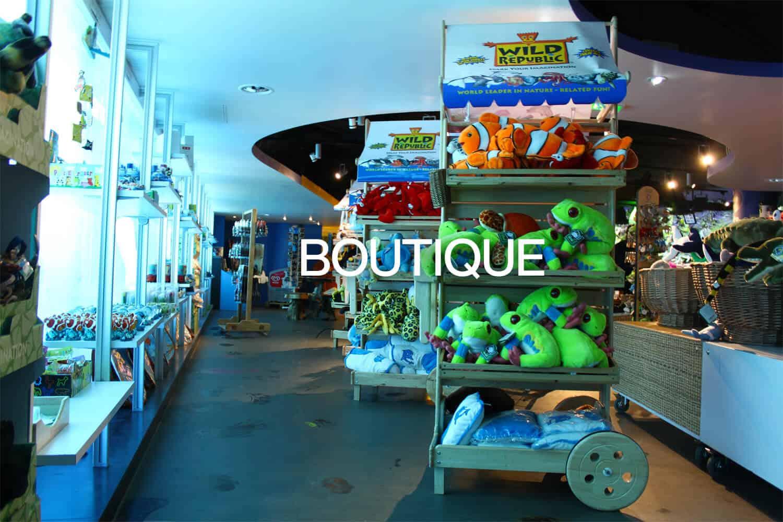 Boutique - Aquarium de Paris