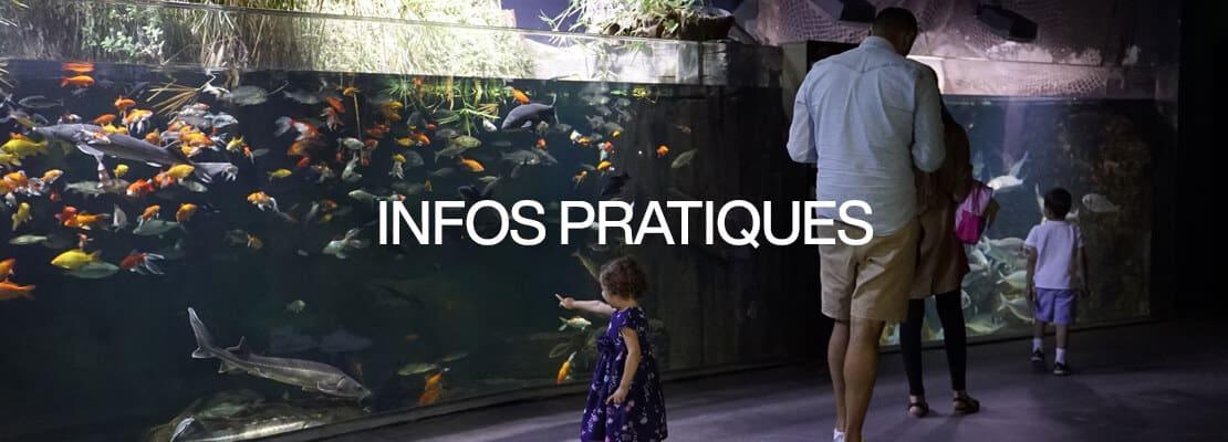 Infos pratiques - Aquarium de Paris