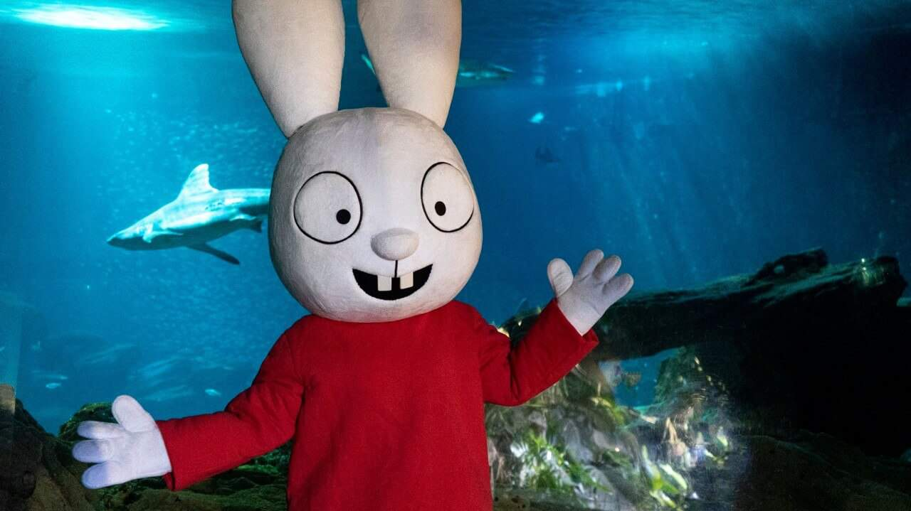 Mascotte Simon - Aquarium de Paris