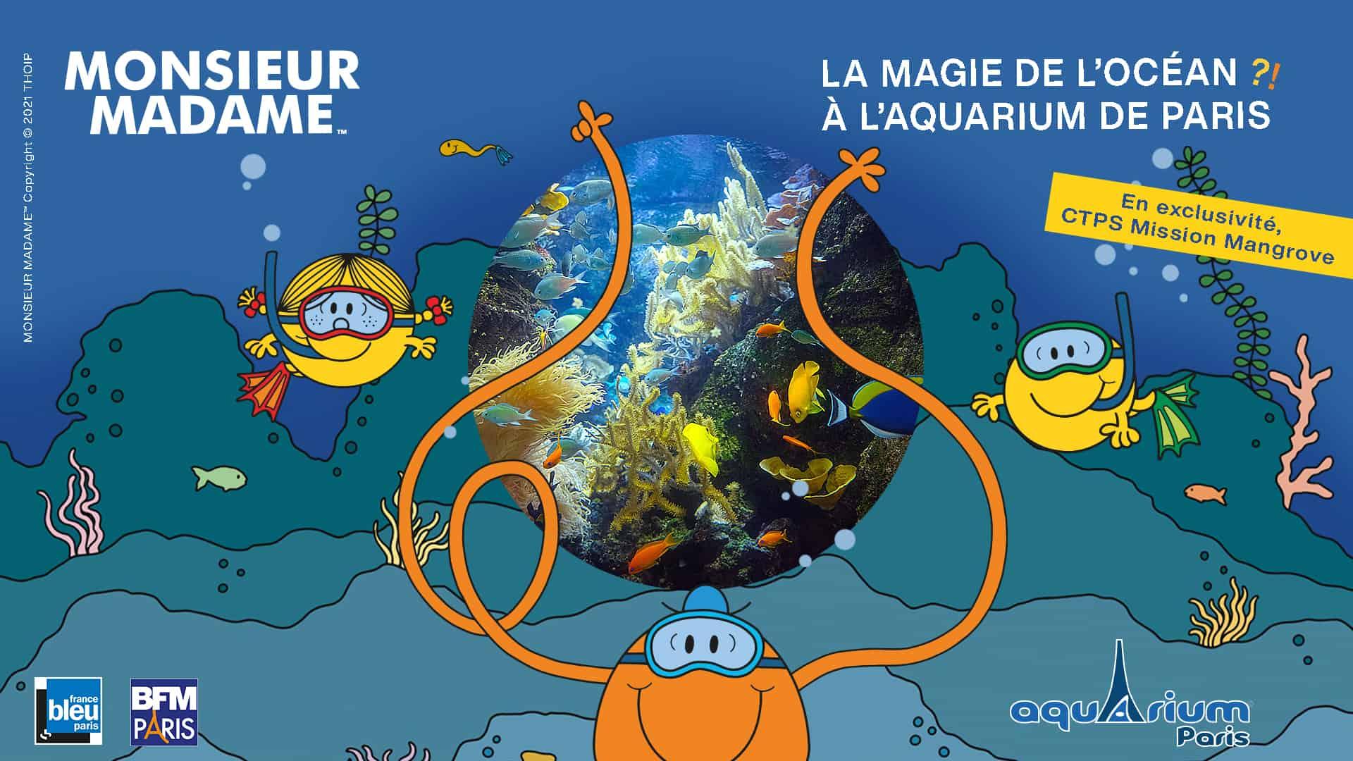expo monsieur madame - Aquarium de Paris