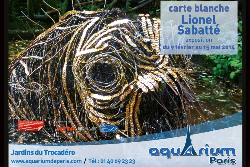 Cartye blanche Lionel Sabatté - Aquarium de Paris